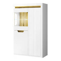 Шкаф с витриной 1V2D LP TORINO (Торино)
