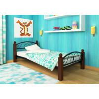 Кровать одинарная металлическая Вероника Lux Plus