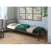 Кровать металлическая одинарная Хостел
