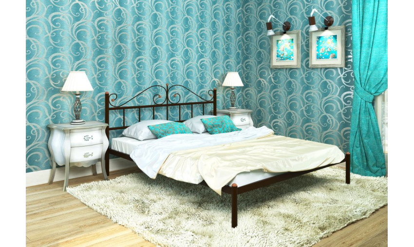 Кровать металлическая Диана