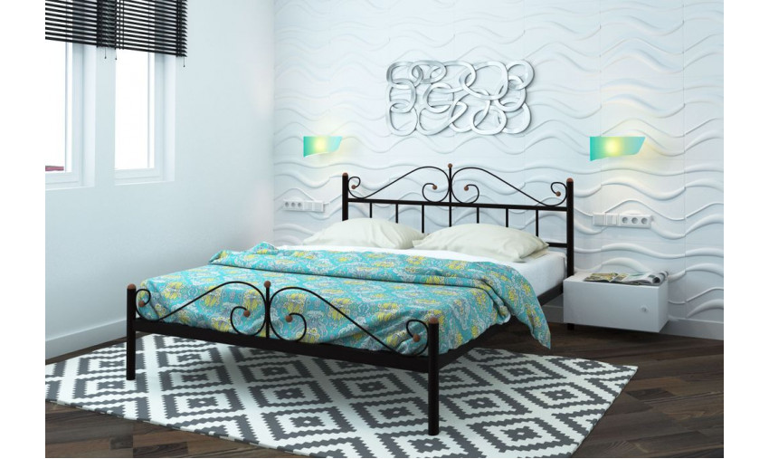 Кровать металлическая Диана Plus