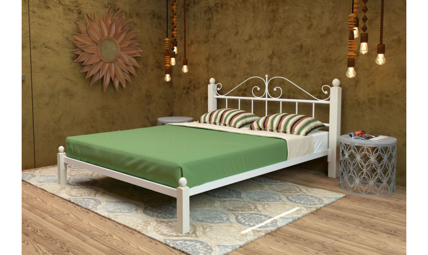 Кровать металлическая Диана Lux
