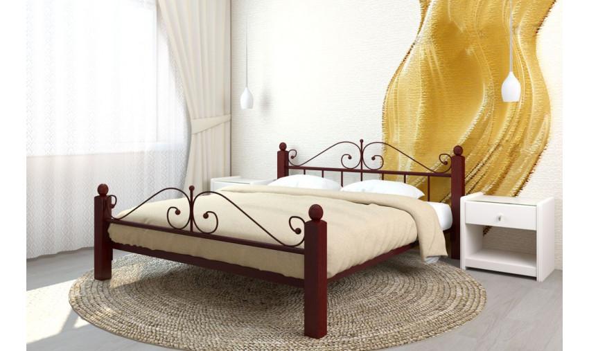 Кровать металлическая Диана Lux Plus