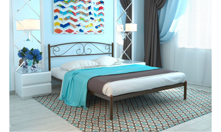Кровать металлическая Вероника