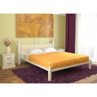 Кровать металлическая Диана Lux (мягкая)