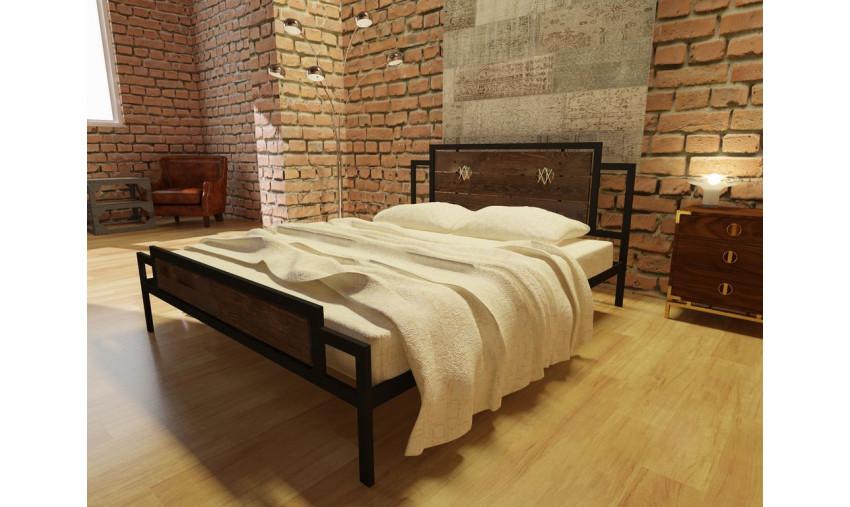 Кровать металлическая Инесса Plus