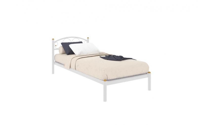 Кровать металлическая одинарная Вероника