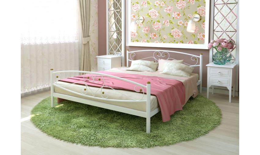 Кровать металлическая Каролина Plus