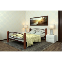 Кровать металлическая Каролина Lux Plus