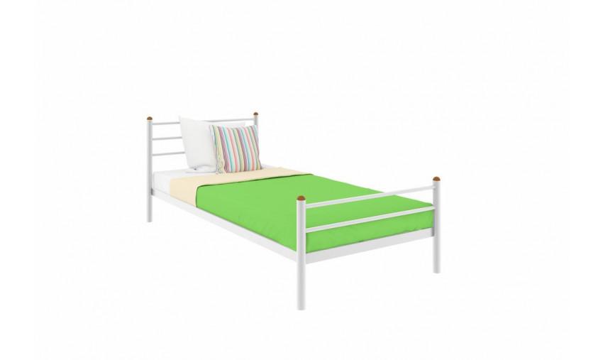 Кровать металлическая одинарная Милана Plus