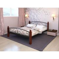 Кровать металлическая Вероника Lux Plus