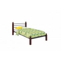 Кровать металлическая одинарная Милана Lux