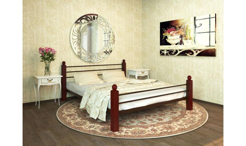 Кровать металлическая Милана Lux Plus