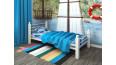 Кровать металлическая одинарная Милана Lux Plus