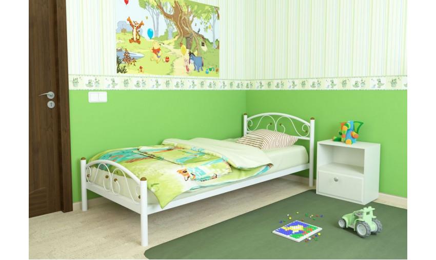 Кровать металлическая одинарная Вероника Plus