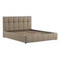 Кровать Хлоя Пегасо капучино к/з бежево-коричневый