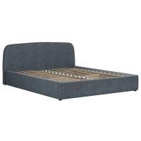Кровать Илона Ролан 3064/4 рогожка серо-бирюзовый