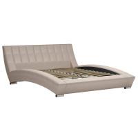 Кровать Оливия Марика 486 к/з бежевый