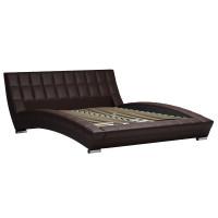 Кровать Оливия Марика 468 к/з шоколад
