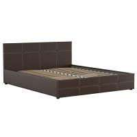Кровать Синди Марика 468 к/з шоколад