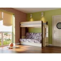 Кровать-чердак с диван-кроватью Немо (с матрацем)