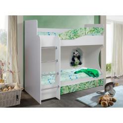 Кровать 2-х ярусная Адель - 1 (Панда)