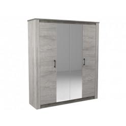 Шкаф 4-х дверный Денвер