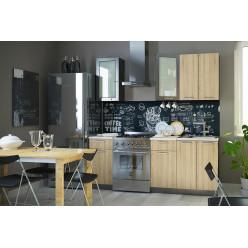 Кухня модульная Брауни 1.6м