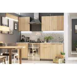 Кухня модульная Брауни 1.7м