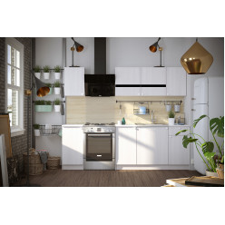 Кухня модульная Ронда Ясень Анкор 1.8м