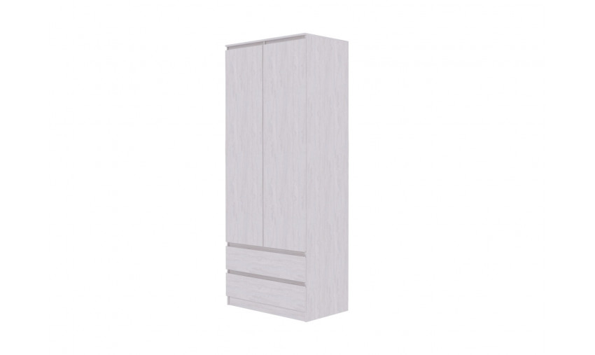 Шкаф двухстворчатый комбинированный Бриз