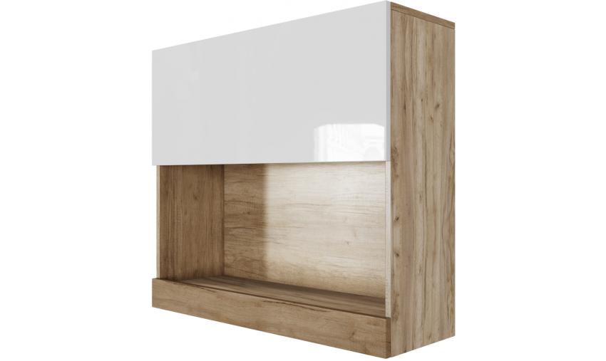 Шкаф навесной (горизонтальный 800) Ницца