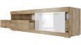 Тумба для телевидеоаппаратуры с ящиками и нишей (1600) Ницца