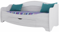 Кровать одинарная ( с одним ящиком) Акварель 1