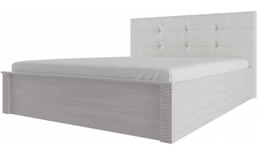 Кровать двойная с мягким изголовьем Гамма-20