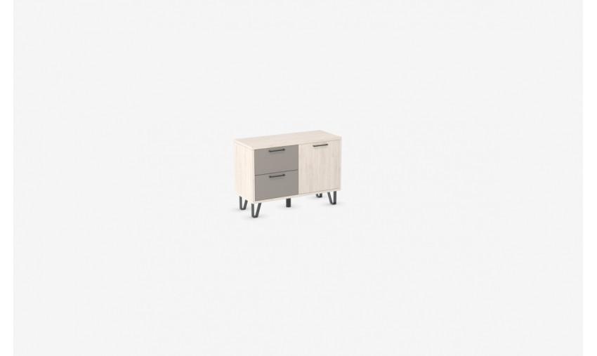 Тумба с ящиками и створкой Колибри