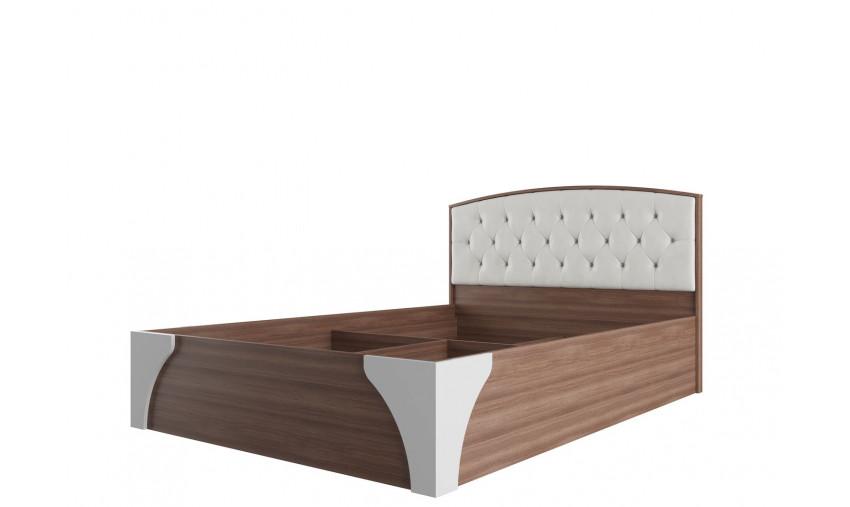 Кровать двойная с пуговицами Лагуна 7