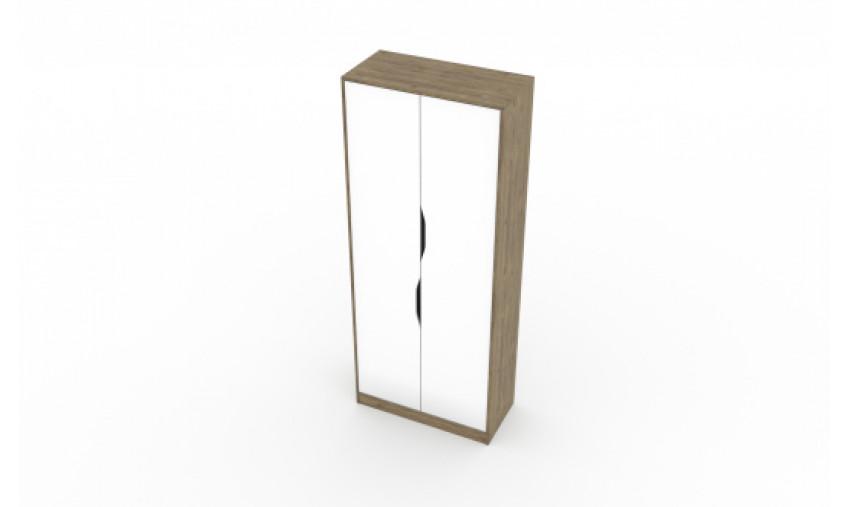 Шкаф двухстворчатый комбинированный Миндаль