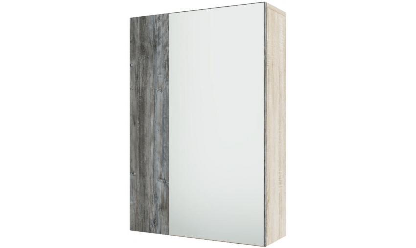 Шкаф с зеркалом (навесной) Визит 1