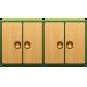 4-дверные шкафы