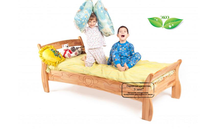 Детская деревянная кровать Буковка Б-12