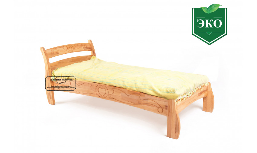 Детская деревянная кровать Буковка Б-17