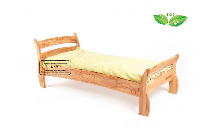 Детская деревянная кровать Буковка Б-18
