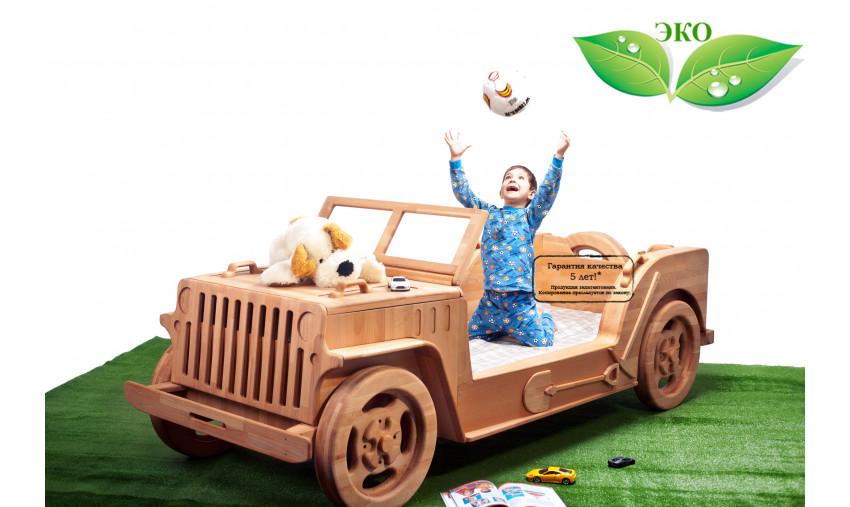 Детская кровать джип Willys