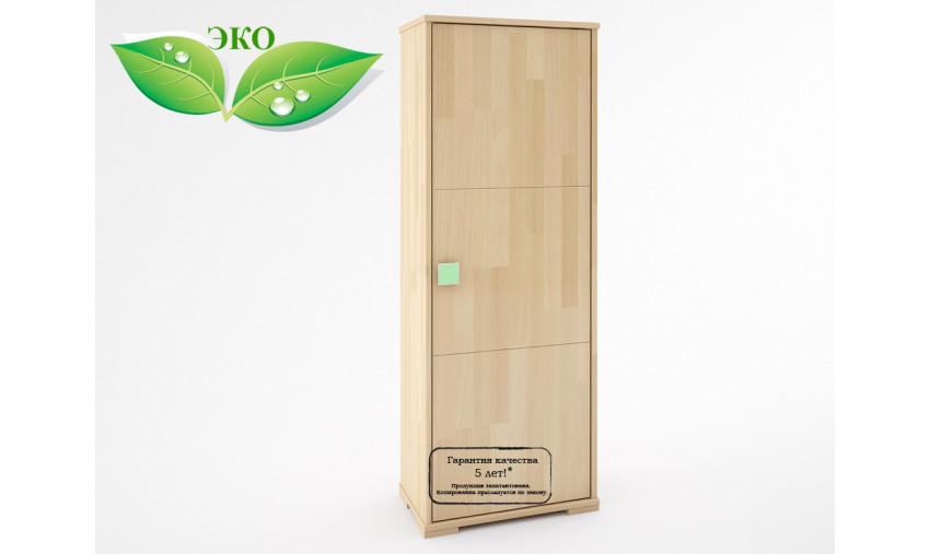 Деревянный шкаф с полками Акварель КА-002