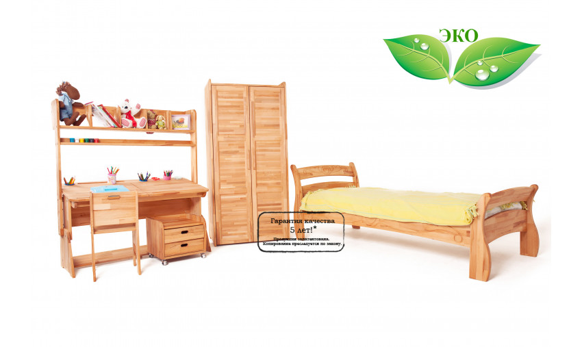 Детская деревянная мебель Школярик+Буковка В3