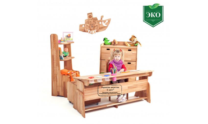 Детская деревянная мебель Школярик+Буковка