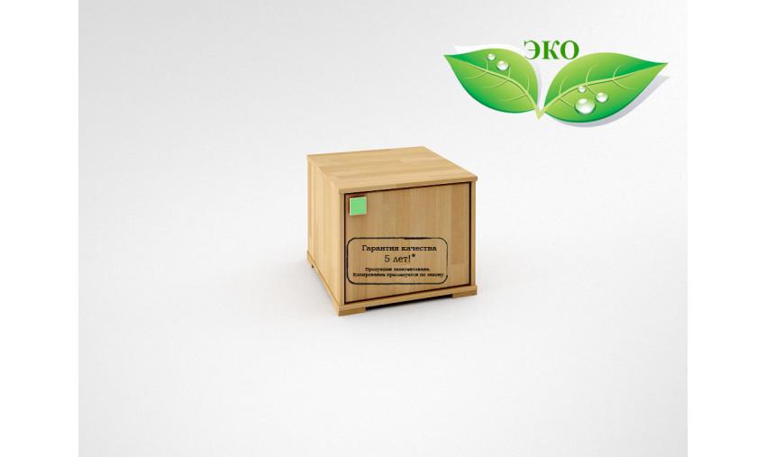 Деревянная прикроватная тумба Акварель КА-003