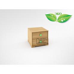 Деревянная прикроватная тумба с ящиками Акварель КА-003