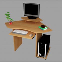 Угловой компьютерный стол С546